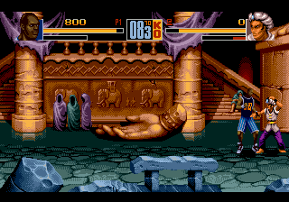 Shaq Fu (USA, Europe) In game screenshot