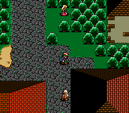 Shining Force (USA) In game screenshot