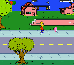 Simpsons, The - Bart's Nightmare (USA, Europe) In game screenshot