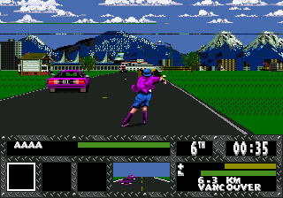 Skitchin (USA, Europe) In game screenshot