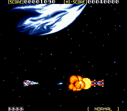 Sol-Deace (USA) In game screenshot