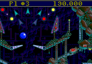 Sonic Spinball (Japan) In game screenshot