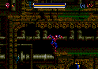 Spider-Man (USA, Europe) (Acclaim) In game screenshot