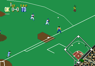 Sports Talk Baseball (USA) In game screenshot