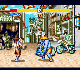 Street Fighter II' - Special Champion Edition (Europe) In game screenshot
