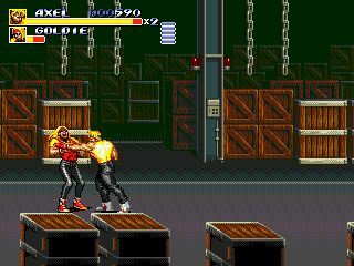 Streets of Rage 3 (Europe) In game screenshot