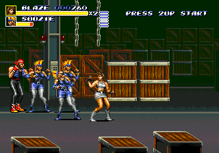 Streets of Rage 3 (USA) In game screenshot