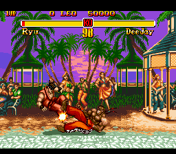 Super Street Fighter II - The New Challengers (Europe) In game screenshot