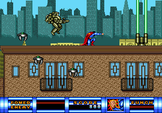 Superman (USA) In game screenshot