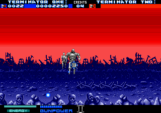 T2 - The Arcade Game (USA, Europe) In game screenshot