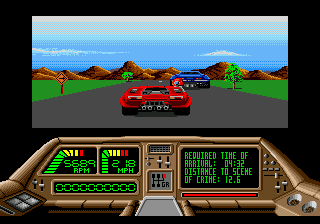 Technocop (USA) In game screenshot