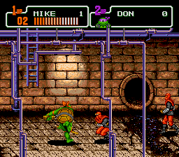 Teenage Mutant Hero Turtles - The Hyperstone Heist (Europe) In game screenshot