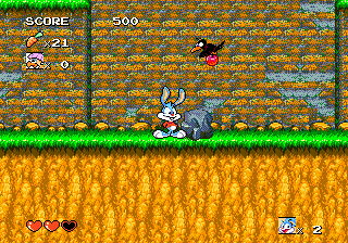 Tiny Toon Adventures - Buster's Hidden Treasure (USA) In game screenshot