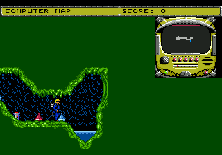 Todd's Adventures in Slime World (USA) In game screenshot