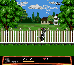 Tom and Jerry - Frantic Antics (USA) (1994) In game screenshot