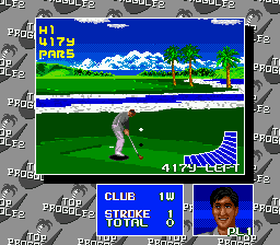 Top Pro Golf 2 (Japan) In game screenshot