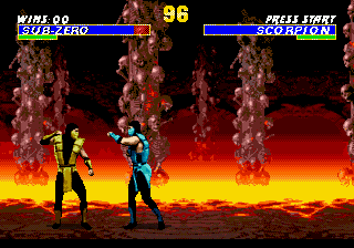 Ultimate Mortal Kombat 3 (Europe) In game screenshot