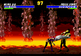 Ultimate Mortal Kombat 3 (USA) In game screenshot