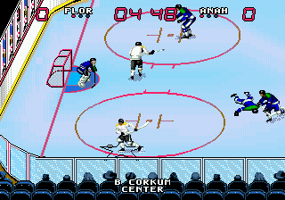Wayne Gretzky and the NHLPA All-Stars (USA, Europe) In game screenshot