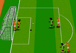 World Championship Soccer II (USA) In game screenshot