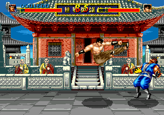 World Heroes (Japan) In game screenshot