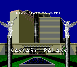 Caesars Palace (USA) Title Screen