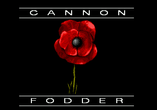 Cannon Fodder (Europe) Title Screen