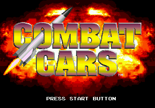 Combat Cars (USA, Europe) Title Screen