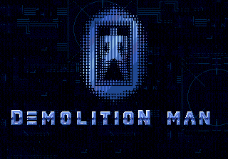 Demolition Man (USA, Europe) Title Screen