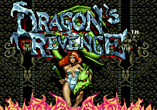 Dragon's Revenge (USA, Europe) Title Screen