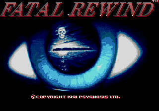 Fatal Rewind (USA, Europe) Title Screen