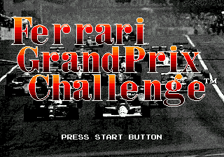 Ferrari Grand Prix Challenge (USA) Title Screen