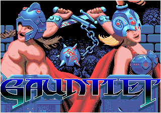 Gauntlet (Japan) (En,Ja) Title Screen