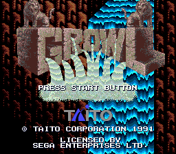 Growl (USA) Title Screen