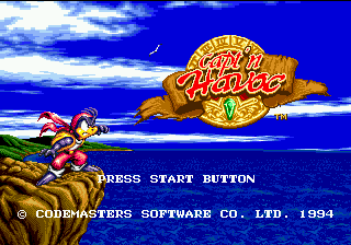 Havoc (Europe) Title Screen