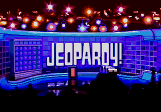 Jeopardy! Deluxe (USA) Title Screen