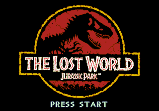 Jurassic Park 2 - The Lost World (USA, Europe) Title Screen