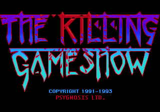Killing Game Show, The (Japan) Title Screen