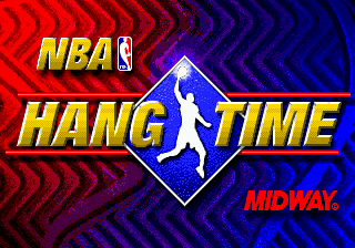 NBA Hang Time (Europe) Title Screen
