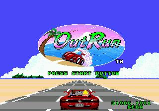 OutRun (USA, Europe) ROM < Genesis ROMs | Emuparadise