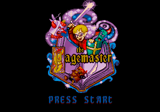Pagemaster, The (USA) Title Screen