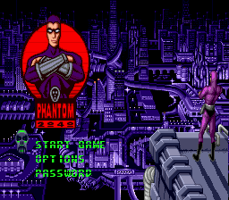 Phantom 2040 (USA) Title Screen