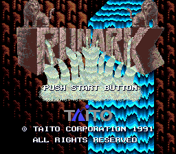 Runark (Japan) Title Screen