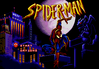 Spider-Man (USA, Europe) (Acclaim) Title Screen