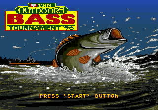 TNN Outdoors Bass Tournament '96 (USA) Title Screen