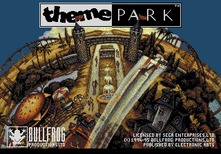 Theme Park (USA, Europe) Title Screen