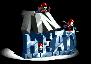 TinHead (USA) Title Screen