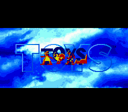 Toys (USA) Title Screen
