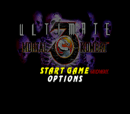 Ultimate Mortal Kombat 3 (USA) Title Screen