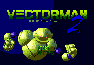 Vectorman 2 (USA) (Beta) Title Screen
